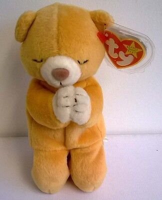 Rare TY Beanie Baby Hope with 2 Errors - Date Errors Collectible Gift Idea Rare