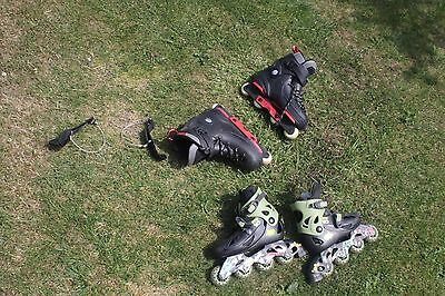 House Clearance, 2X Roller Blades, Ben 10 And Red + Black