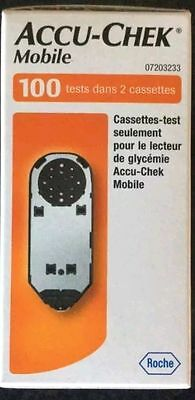 Accu-Chek Mobile Cassettes 100 Tests 2 X 50 Expiry 04/2018