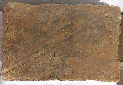 Ancient Roman Legionary Brick with stamp LEG I ITAL