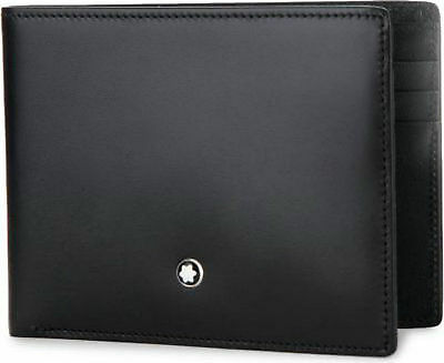 Montblanc 14548 Meisterstuck Collection 6cc Leather Wallet - NEW IN BOX