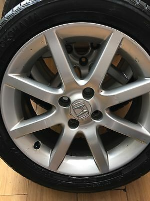 Honda Civic Genuine Alloy Wheels And Tyres 16 Inch