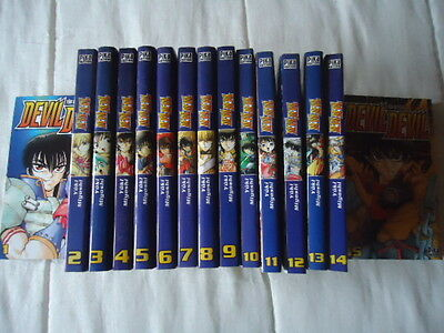 LOT 15 Devil Devil Yuki Myoshi PIKA MANGA INTEGRALE SERIE COLLECTION COMPLETE