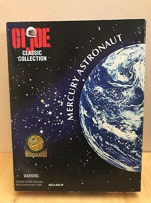 "GI Joe Classic Collection 12"" Mercury Astronaut Action Figure Hasbro/ kenner-NIB"