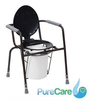 Drive Devilbiss Kegworth Chemical Toilet Commode Height Adjustable Toilet Aid