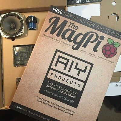 "Raspberry Pi ""The MagPi"" magazine Issue 57 AIY with Google Project issue"