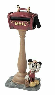 Disney Post Mickey Mouse Traveler Letter Maikbox Mail Box Post Stand Japan