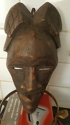 ancient african tribal mask