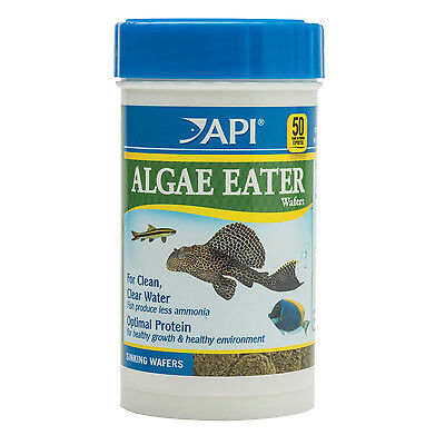 API Algae Eater Wafers 106g Nutrition Fish Food Sinking Algae Wafers