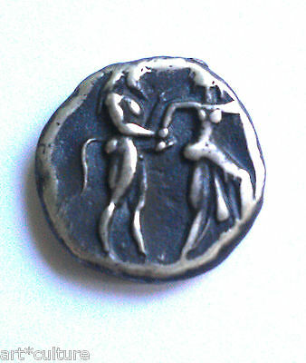 Satyr.and Nymph Silver Stater of Lete,of Thasos Island  500 B.C