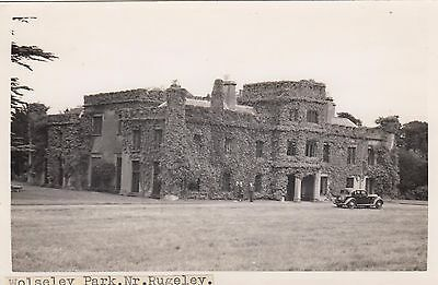 Wolseley Park, Lost Country House, Nr Rugeley, Staffordshire. Rp, C1920.