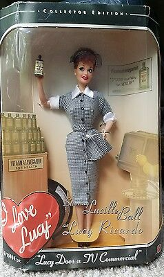 I Love Lucy Lucy does a Commercial 1997 Barbie Doll