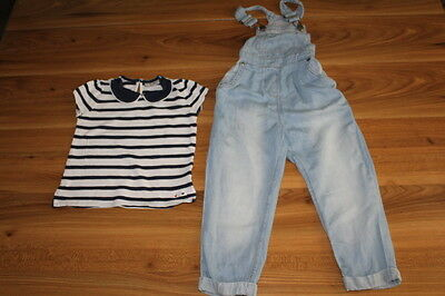 NEXT girls dungarees top bundle 2-3 years *I'll combine postage