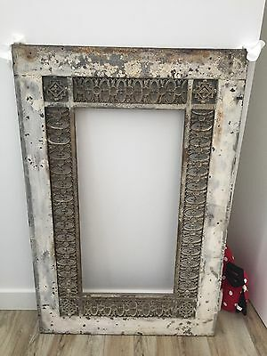 Mirror Frame Cast Iron C19th Original