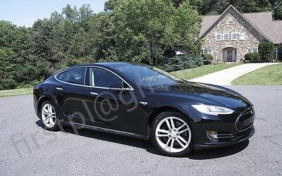 2014 Tesla Model S 90 2014 RWD Model S with a 90kWh battery, rebuild title