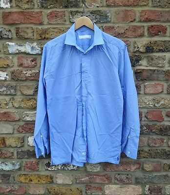 Spencer Hart blue shirt - 16.5 - VGC - great with suit