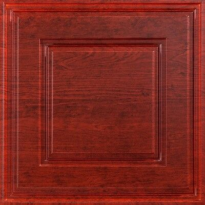 Fasade - Raised Coffer 2ft x 2ft Lay In Ceiling Tile / Ceiling Panel