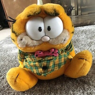 Vintage Garfield 1978-981 - GARFIELD Soft Toy Plush  9""