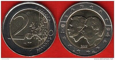 BELGIO BELGIUM - 2005 - 2 EURO KM 240 - Luxembourg Economic Union  UNC from roll