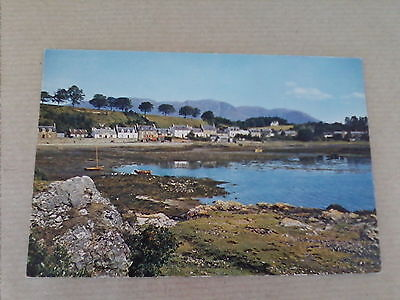Postcard Plockton  Loch Carron Ross-Shire Scotland   (B4)