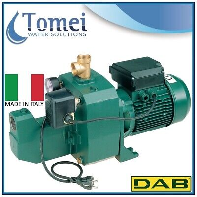 Self-Priming Electro Water Pump SET UP in Cast-Iron JET 251 M-P 1,85KW 240V DAB