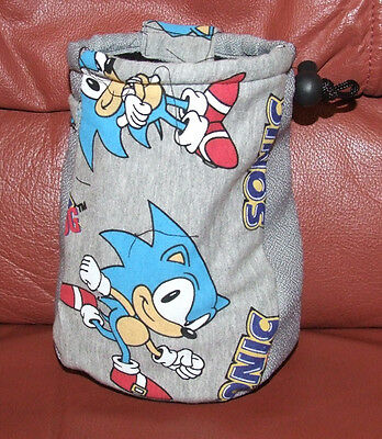 Rock Climbers Chalk bag    BRAND NEW    SONIC THE HEDGEHOG