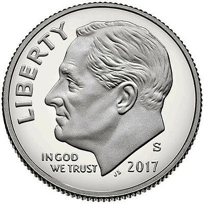 2017 S Silver Proof Roosevelt Dime