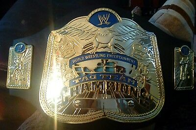 Wwe Wwf Wcw Tag Team Wrestling Champion Title Belt