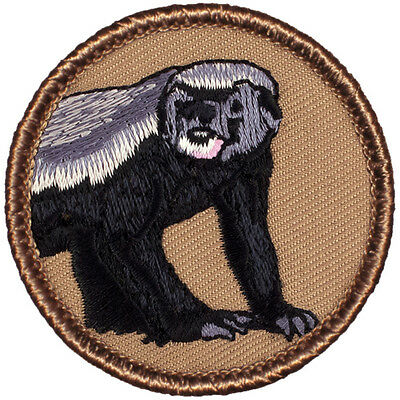Awesome Boy Scout Patrol Patch! - #418 The Honey Badger Patrol!