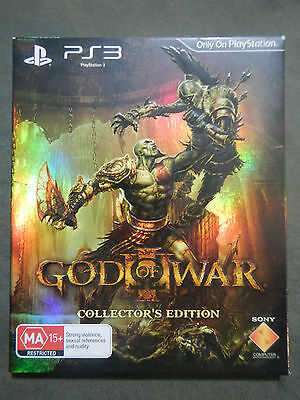 God of War III Collectors Edition PS3 Game PlayStation 3