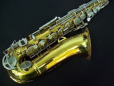Solid Quality! Vintage King 613 Alto Saxophone U.s.a.