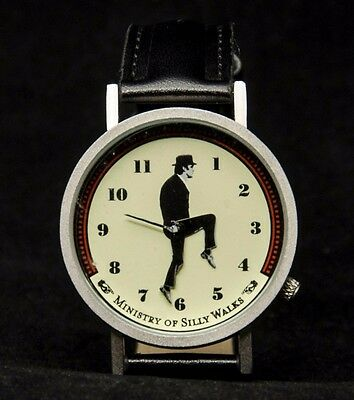 Tempus Fugit Mens Watch. Unemployed Philosopher Guild. Ministry of Silly Walk.