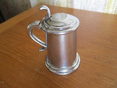 dunhill vintage table lighter(bumper) early,chrome tankard 1950s