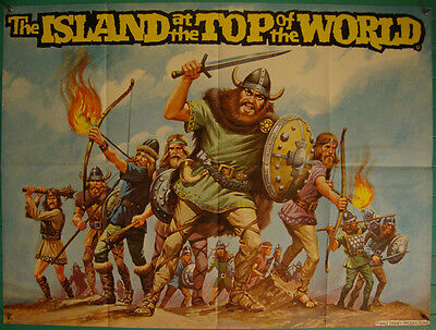 The Island at the Top of the World-Sci Fi-J.Verne-R.Stevenson-BQ (40x30 inch)