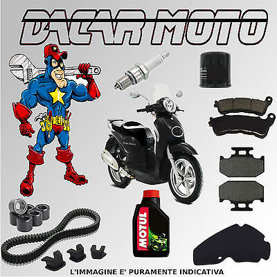 Cutting Kit Aprilia Scarabeo Motor Piaggio 2006 Belt Rollers And Other