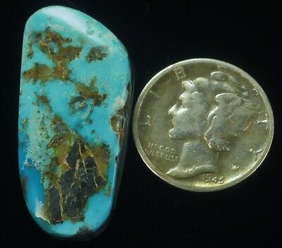 BLUE JUNE 20.25ct HIGH-GRADE CAB RARE TURQUOISE VIA CLYDE WRIGHT & TONY COTNER