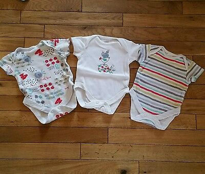 Boys girls next bodysuit vest upto 1 month newborn