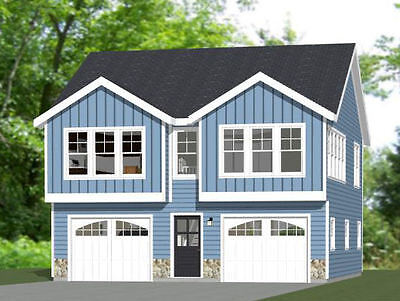 30x32 House -- 2 bedroom 1.5 Bath -- 1,014 sqft -- PDF Floor Plan -- Model 2