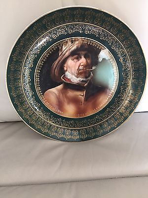 Large Victorian Plate