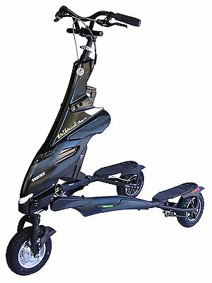 Trikke Pon-e Electric Scooter 48V Deluxe Black With B