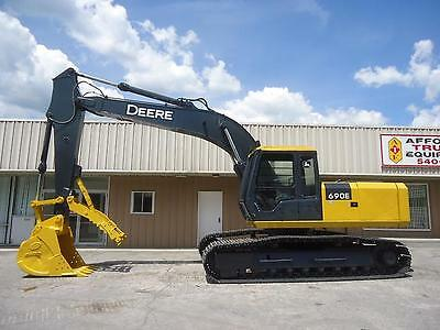 John Deere 690E Lc Crawler Hydraulic Excavator Trackhoe With Thumb