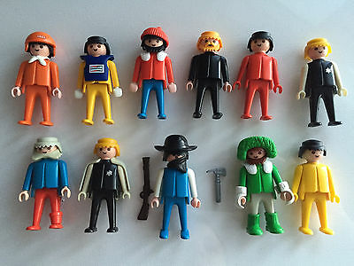 Playmobil Vintage 1974 People Action Figures Lot