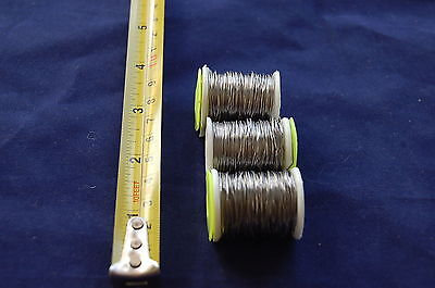 3 Spools of Lead Wire for Fly Tying, Fly Dressing