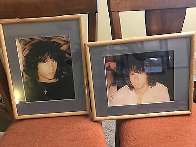 Jim Morrison of The Doors framed and matted glossy photos Rare???