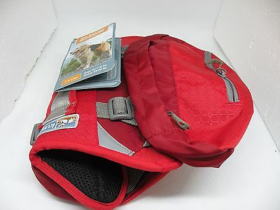 Kurgo Big Baxter 7.5 Liter Backpack for Dogs 50 ‑ 110 lbs - Red