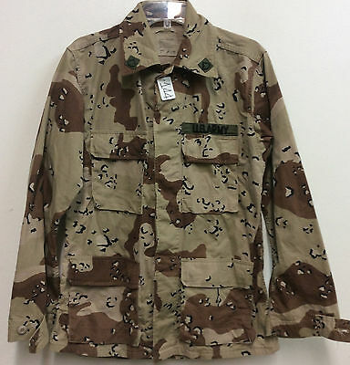 Us Army 6 Color Desert Camo Shirt Size: Small Regular Used (15_144)