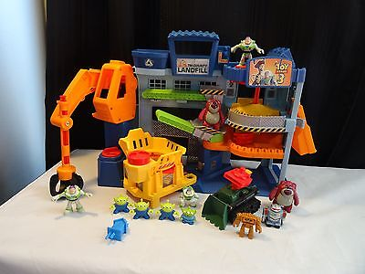 Fisher Price Imaginext Disney Pixar Toy Story 3 Tri-County Landfill Discontinued