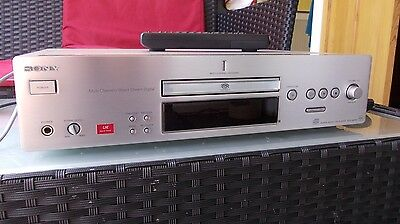 Sony Qs-Es Xb780 Cd Player Sacd, Cdr ,cdrw, High Quality Playback Very Detailed,