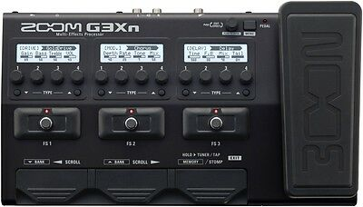 Zoom G3Xn Multi-effects Processor with Expression