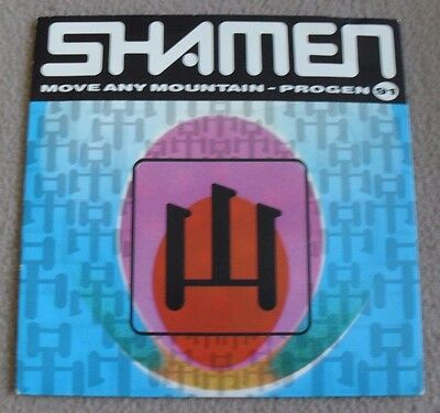 THE SHAMEN - MOVE ANY MOUNTAIN vinyl single record 52TP7 - nr MINT